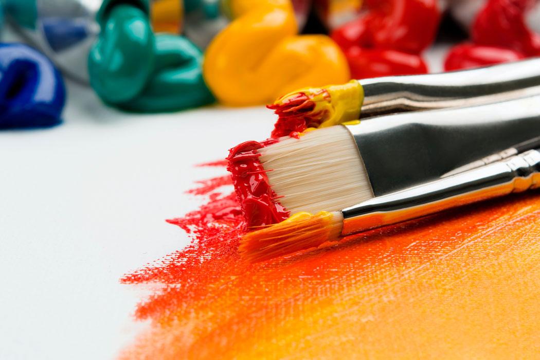 Petra Sewing Mestre Kreativer Malprozess