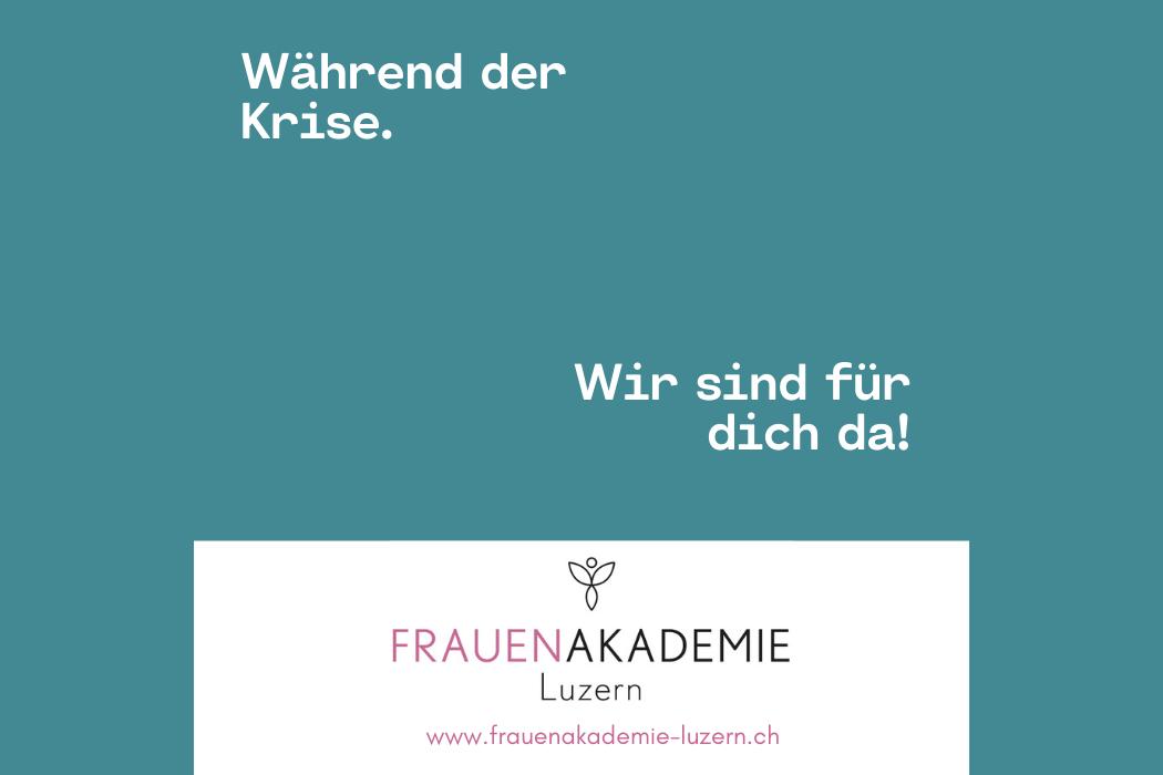 Frauenakdemie Luzern Solidaritaet Corona Aktion